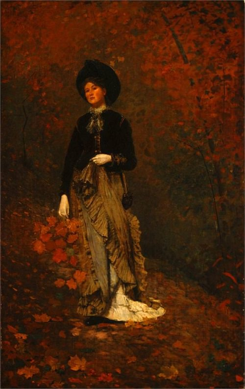 Autumn - by Winslow Homer