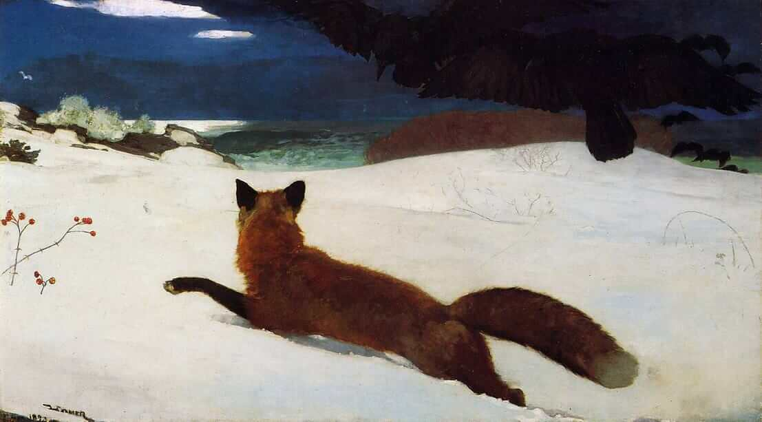 Fox Hunt, 1893 by Winslow Homer