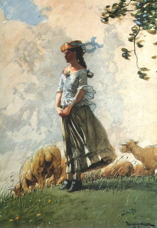 Fresh Air - by Winslow Homer
