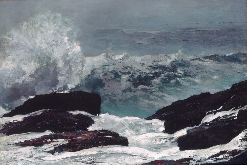 Maine Coast, 1896 by Winslow Homer