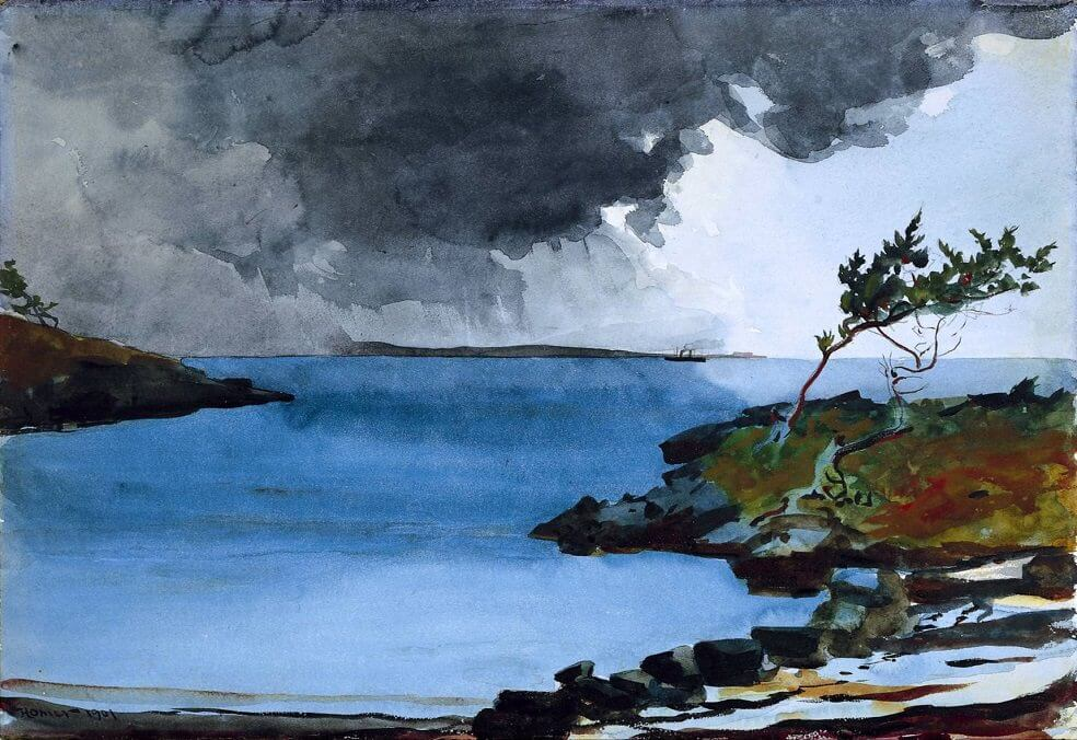 The Coming Storm - by Winslow Homer