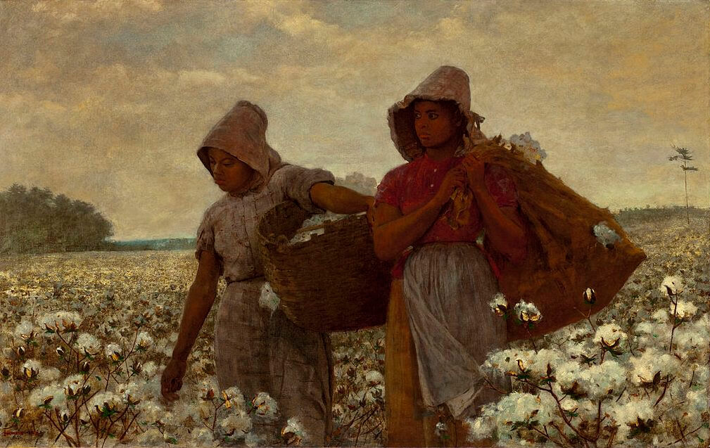 the cotton pickers 1876 by winslow homer