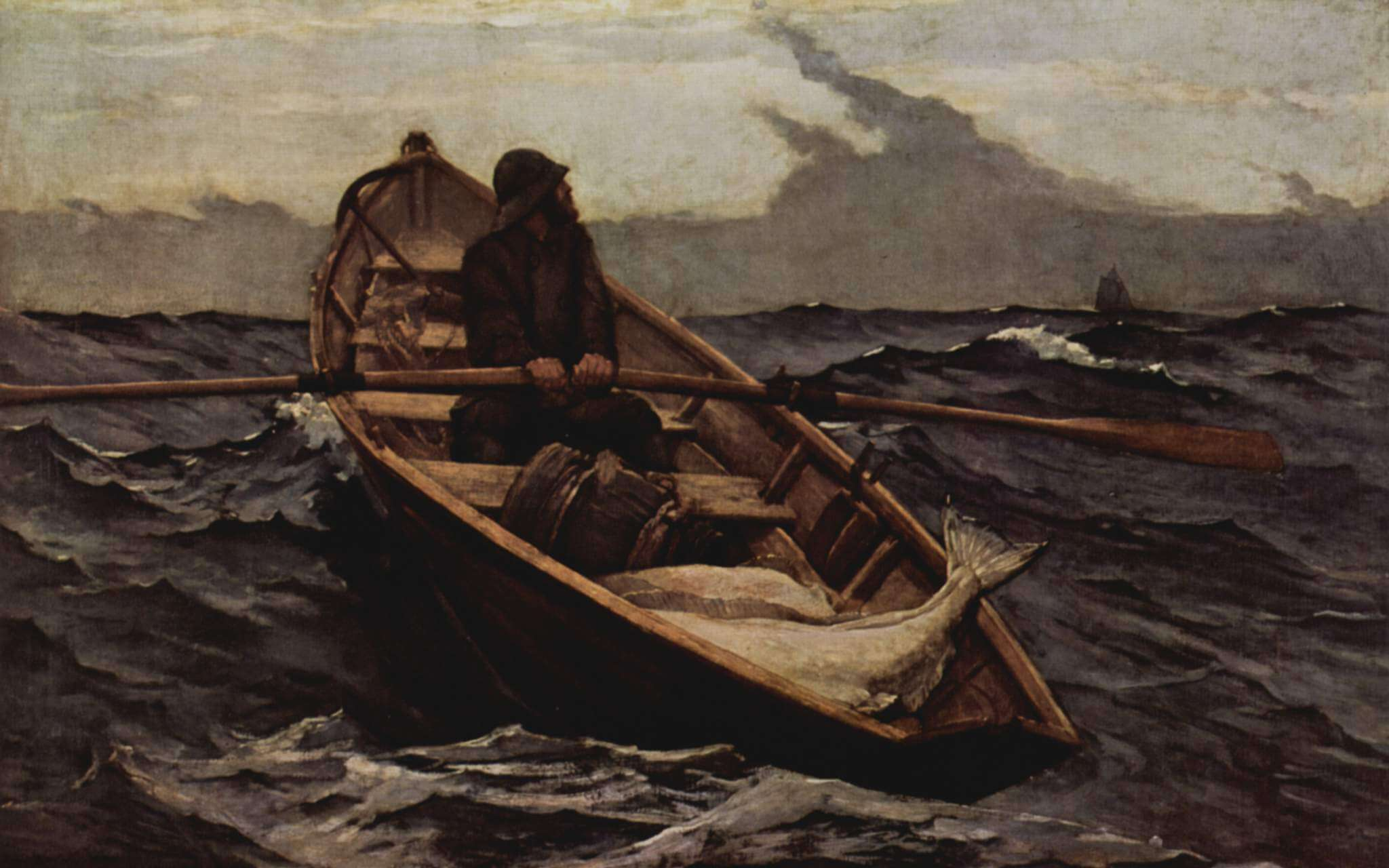 The Fog Warning, 1885 by Winslow Homer