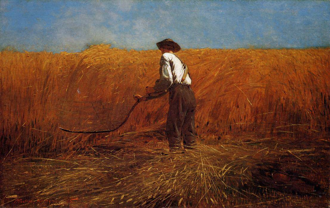 The Veteran in a New Field, 1865 by Winslow Homer